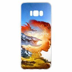 Чехол для Samsung S8+ Horizon Zero Dawn art