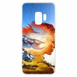 Чехол для Samsung S9 Horizon Zero Dawn art