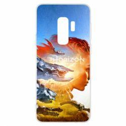 Чехол для Samsung S9+ Horizon Zero Dawn art