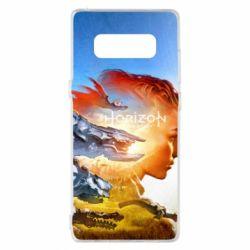Чехол для Samsung Note 8 Horizon Zero Dawn art