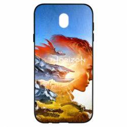 Чехол для Samsung J7 2017 Horizon Zero Dawn art