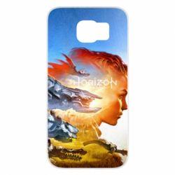Чехол для Samsung S6 Horizon Zero Dawn art