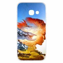 Чехол для Samsung A3 2017 Horizon Zero Dawn art