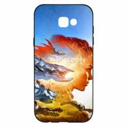 Чехол для Samsung A7 2017 Horizon Zero Dawn art