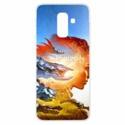 Чехол для Samsung A6+ 2018 Horizon Zero Dawn art