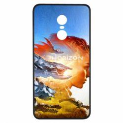 Чехол для Xiaomi Redmi Note 4x Horizon Zero Dawn art