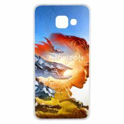 Чехол для Samsung A3 2016 Horizon Zero Dawn art