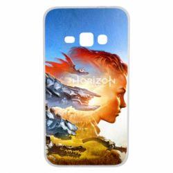 Чехол для Samsung J1 2016 Horizon Zero Dawn art