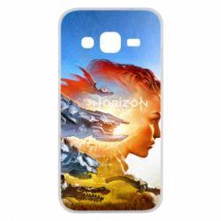 Чехол для Samsung J2 2015 Horizon Zero Dawn art