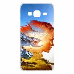Чехол для Samsung J3 2016 Horizon Zero Dawn art