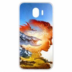 Чехол для Samsung J4 Horizon Zero Dawn art