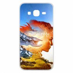 Чехол для Samsung J5 2015 Horizon Zero Dawn art