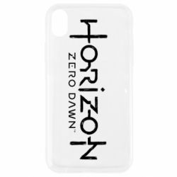 Чехол для iPhone XR Horizon Zero Dawn logo