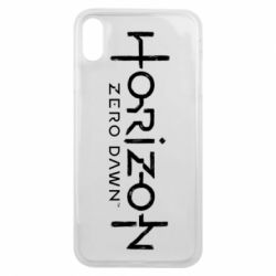 Чехол для iPhone Xs Max Horizon Zero Dawn logo