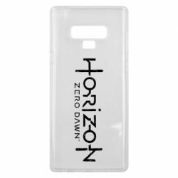 Чехол для Samsung Note 9 Horizon Zero Dawn logo