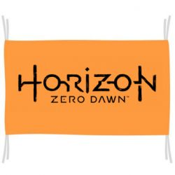 Флаг Horizon Zero Dawn logo