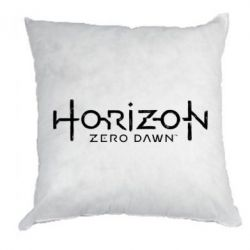 Подушка Horizon Zero Dawn logo
