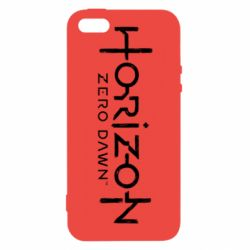 Чехол для iPhone5/5S/SE Horizon Zero Dawn logo