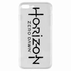 Чехол для iPhone 8 Plus Horizon Zero Dawn logo
