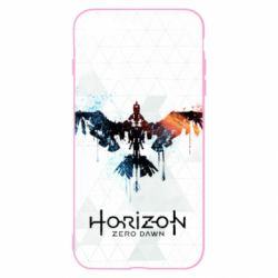 Чехол для iPhone 8 Plus Horizon Zero Dawn low poly