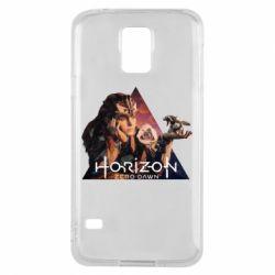 Чохол для Samsung S5 Horizon Zero Dawn
