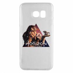 Чохол для Samsung S6 EDGE Horizon Zero Dawn