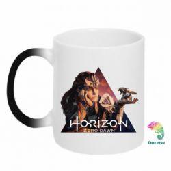 Кружка-хамелеон Horizon Zero Dawn
