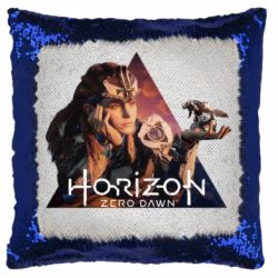 Подушка-хамелеон Horizon Zero Dawn