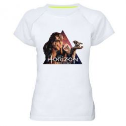Жіноча спортивна футболка Horizon Zero Dawn
