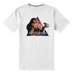 Чоловіча стрейчева футболка Horizon Zero Dawn