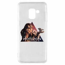 Чохол для Samsung A8 2018 Horizon Zero Dawn
