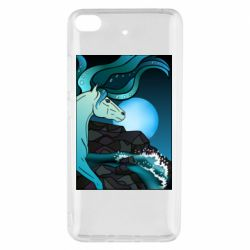 Чехол для Xiaomi Mi 5s Horse against the background of the moon