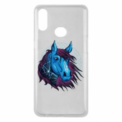 Чехол для Samsung A10s Horse and neon color