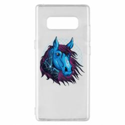 Чехол для Samsung Note 8 Horse and neon color