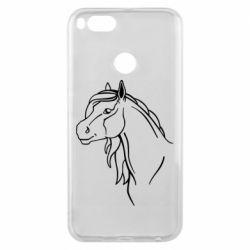 Чехол для Xiaomi Mi A1 Horse contour