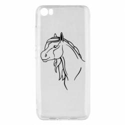 Чехол для Xiaomi Mi5/Mi5 Pro Horse contour