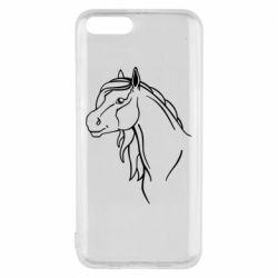 Чехол для Xiaomi Mi6 Horse contour