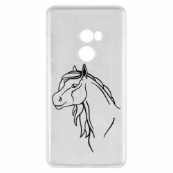 Чехол для Xiaomi Mi Mix 2 Horse contour