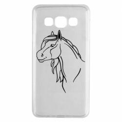 Чехол для Samsung A3 2015 Horse contour