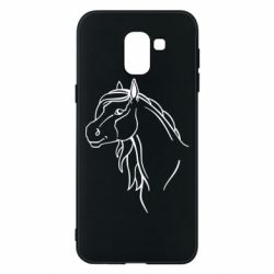 Чехол для Samsung J6 Horse contour