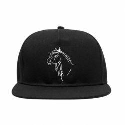 Снепбек Horse contour