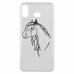 Чехол для Samsung A6s Horse contour