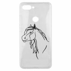 Чехол для Xiaomi Mi8 Lite Horse contour