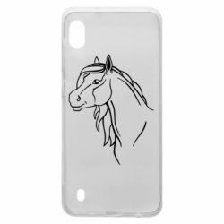 Чехол для Samsung A10 Horse contour
