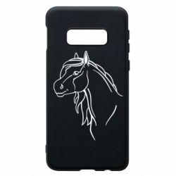 Чехол для Samsung S10e Horse contour