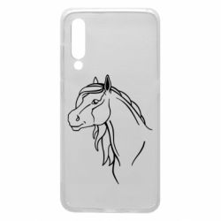 Чехол для Xiaomi Mi9 Horse contour