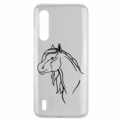 Чехол для Xiaomi Mi9 Lite Horse contour