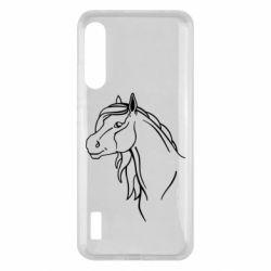 Чохол для Xiaomi Mi A3 Horse contour