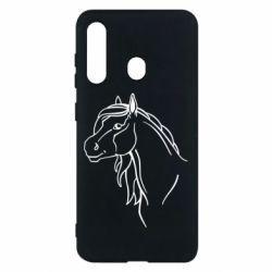 Чехол для Samsung M40 Horse contour