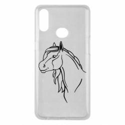 Чехол для Samsung A10s Horse contour